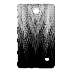 Feather Graphic Design Background Samsung Galaxy Tab 4 (8 ) Hardshell Case  by Onesevenart