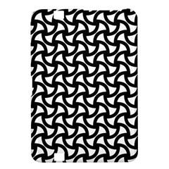 Grid Pattern Background Geometric Kindle Fire Hd 8 9  by Onesevenart