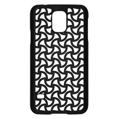 Grid Pattern Background Geometric Samsung Galaxy S5 Case (black) by Onesevenart