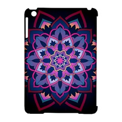 Mandala Circular Pattern Apple Ipad Mini Hardshell Case (compatible With Smart Cover) by Onesevenart