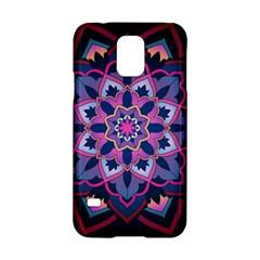 Mandala Circular Pattern Samsung Galaxy S5 Hardshell Case  by Onesevenart