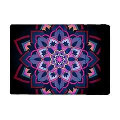 Mandala Circular Pattern Ipad Mini 2 Flip Cases by Onesevenart