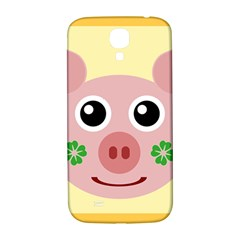 Luck Lucky Pig Pig Lucky Charm Samsung Galaxy S4 I9500/i9505  Hardshell Back Case by Onesevenart