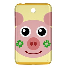 Luck Lucky Pig Pig Lucky Charm Samsung Galaxy Tab 3 (7 ) P3200 Hardshell Case  by Onesevenart