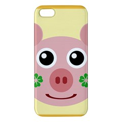Luck Lucky Pig Pig Lucky Charm Iphone 5s/ Se Premium Hardshell Case by Onesevenart