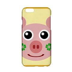 Luck Lucky Pig Pig Lucky Charm Apple Iphone 6/6s Hardshell Case by Onesevenart