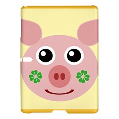 Luck Lucky Pig Pig Lucky Charm Samsung Galaxy Tab S (10 5 ) Hardshell Case  by Onesevenart