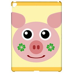 Luck Lucky Pig Pig Lucky Charm Apple Ipad Pro 12 9   Hardshell Case by Onesevenart