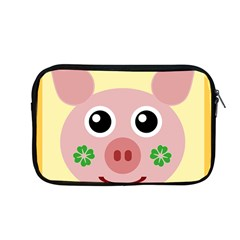Luck Lucky Pig Pig Lucky Charm Apple Macbook Pro 13  Zipper Case by Onesevenart