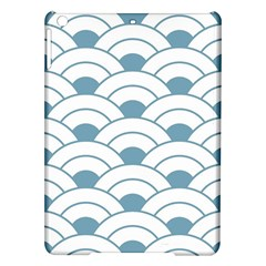 Art Deco Teal White Ipad Air Hardshell Cases by 8fugoso