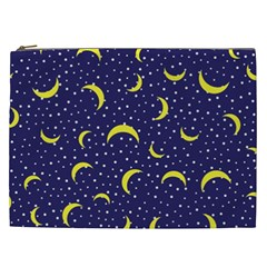 Moon Pattern Cosmetic Bag (xxl)  by Onesevenart