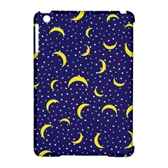 Moon Pattern Apple Ipad Mini Hardshell Case (compatible With Smart Cover) by Onesevenart