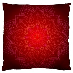 Mandala Ornament Floral Pattern Large Cushion Case (two Sides) by Onesevenart