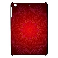 Mandala Ornament Floral Pattern Apple Ipad Mini Hardshell Case by Onesevenart