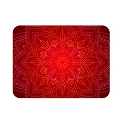 Mandala Ornament Floral Pattern Double Sided Flano Blanket (mini)  by Onesevenart