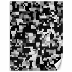Noise Texture Graphics Generated Canvas 36  X 48   by Onesevenart