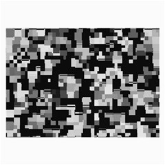 Noise Texture Graphics Generated Large Glasses Cloth (2 Side)