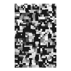 Noise Texture Graphics Generated Shower Curtain 48  X 72  (small)  by Onesevenart