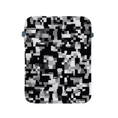 Noise Texture Graphics Generated Apple Ipad 2/3/4 Protective Soft Cases by Onesevenart