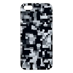 Noise Texture Graphics Generated Iphone 5s/ Se Premium Hardshell Case by Onesevenart