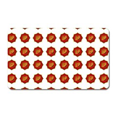 I Ching Set Collection Divination Magnet (rectangular) by Onesevenart