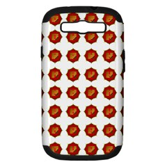I Ching Set Collection Divination Samsung Galaxy S Iii Hardshell Case (pc+silicone) by Onesevenart