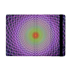 Art Digital Fractal Spiral Spin Apple Ipad Mini Flip Case by Onesevenart