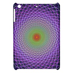 Art Digital Fractal Spiral Spin Apple Ipad Mini Hardshell Case by Onesevenart