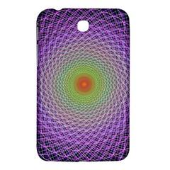 Art Digital Fractal Spiral Spin Samsung Galaxy Tab 3 (7 ) P3200 Hardshell Case  by Onesevenart