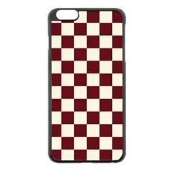 Pattern Background Texture Apple Iphone 6 Plus/6s Plus Black Enamel Case by Onesevenart