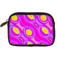 Noise Texture Graphics Generated Digital Camera Cases by Onesevenart