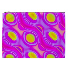 Noise Texture Graphics Generated Cosmetic Bag (xxl)  by Onesevenart