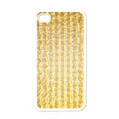 Pattern Abstract Background Apple Iphone 4 Case (white) by Onesevenart