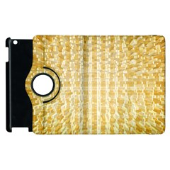 Pattern Abstract Background Apple Ipad 2 Flip 360 Case by Onesevenart