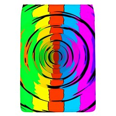 Pattern Colorful Glass Distortion Flap Covers (s)  by Onesevenart