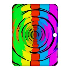 Pattern Colorful Glass Distortion Samsung Galaxy Tab 4 (10 1 ) Hardshell Case  by Onesevenart