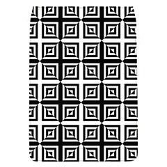 Seamless Pattern Background Black And White Flap Covers (s)  by Onesevenart