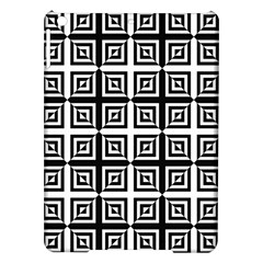 Seamless Pattern Background Black And White Ipad Air Hardshell Cases by Onesevenart