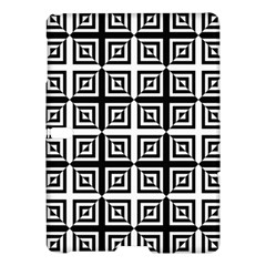 Seamless Pattern Background Black And White Samsung Galaxy Tab S (10 5 ) Hardshell Case  by Onesevenart