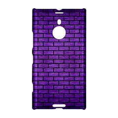 Brick1 Black Marble & Purple Brushed Metal Nokia Lumia 1520 by trendistuff