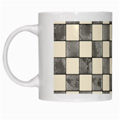 Pattern Background Texture White Mugs by Onesevenart
