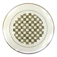 Pattern Background Texture Porcelain Plates by Onesevenart