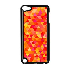 Triangle Tile Mosaic Pattern Apple Ipod Touch 5 Case (black) by Onesevenart