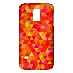 Triangle Tile Mosaic Pattern Galaxy S5 Mini by Onesevenart