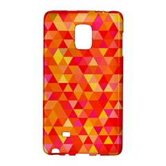 Triangle Tile Mosaic Pattern Galaxy Note Edge by Onesevenart
