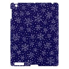 Snowflakes Pattern Apple Ipad 3/4 Hardshell Case by Onesevenart