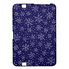 Snowflakes Pattern Kindle Fire Hd 8 9  by Onesevenart