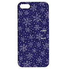 Snowflakes Pattern Apple Iphone 5 Hardshell Case With Stand by Onesevenart