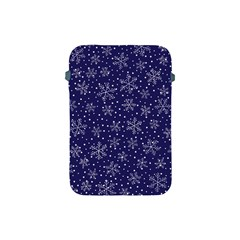 Snowflakes Pattern Apple Ipad Mini Protective Soft Cases by Onesevenart
