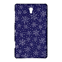 Snowflakes Pattern Samsung Galaxy Tab S (8 4 ) Hardshell Case  by Onesevenart